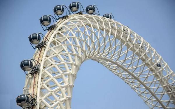 بزرگترین چرخ فلک دنیا
