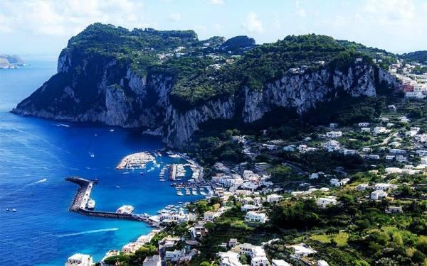 جزیره کاپری | Capri Island در ایتالیا