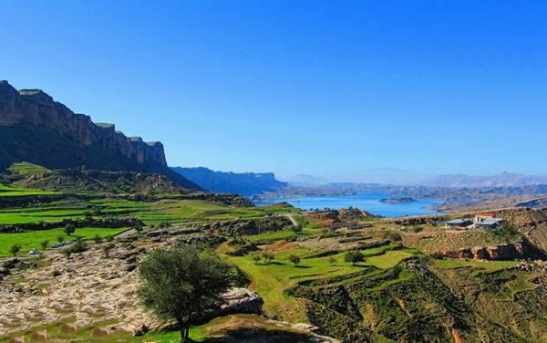 دریاچه شهیون دزفول | دریاچه سد دز