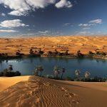 دریاچه های اوباری | The Lakes of Ubari Sand Sea