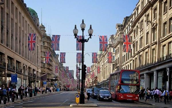 جاذبه های لندن   خیابان ریجنت   Regent Street