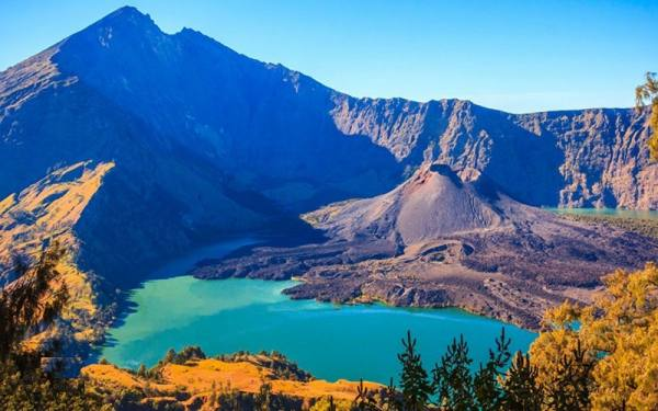 کوه های آتشفشان