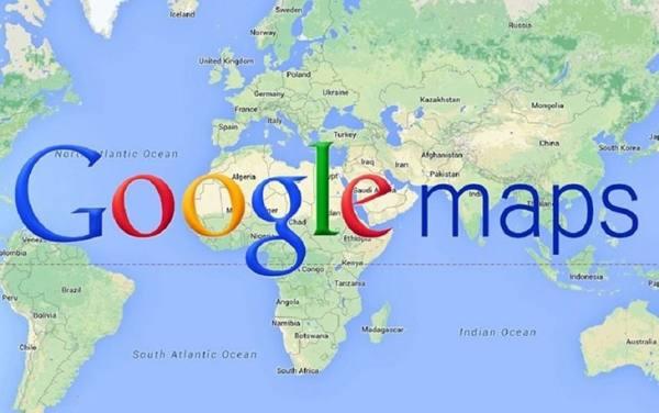 راهنمای گوگل مپ