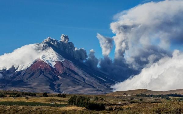 صعود به کوه های آتشفشان