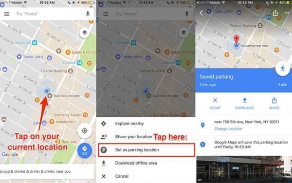 راهنمای google map