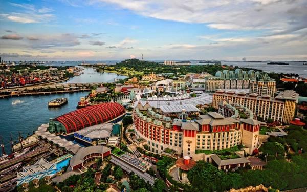جزیره سنتوزا سنگاپور
