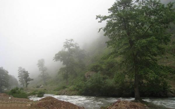 آبشار های منطقه کلاردشت
