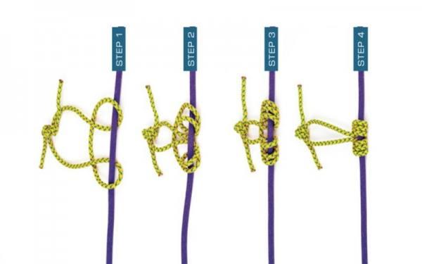 گره پروسیک یا گره با دو طناب