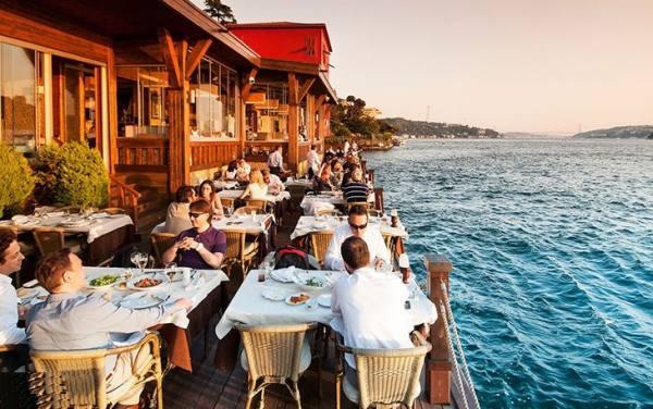 رستوران های دریایی