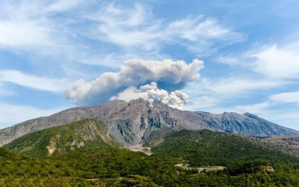 کوه آتشفشان ساکوراجیما | Sakurajima