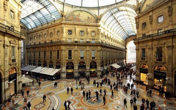 گالری ویتوریو امانوئل دوم | Galleria Vittorio Emanuele II