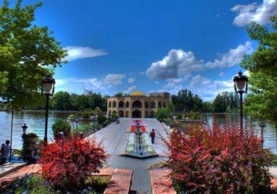 El Goli Park of Tabriz