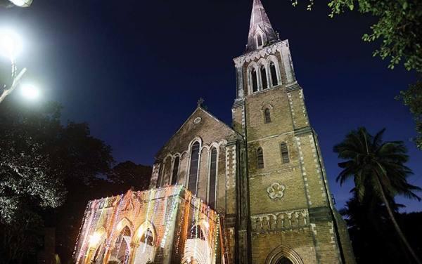 کلیسای افغانی بمبئی | Afghan Church Mumbai