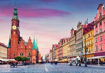 شهر وروتسواف در لهستان