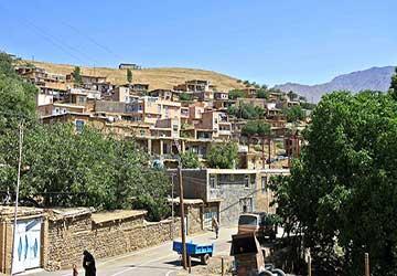 روستای گشانی در همدان