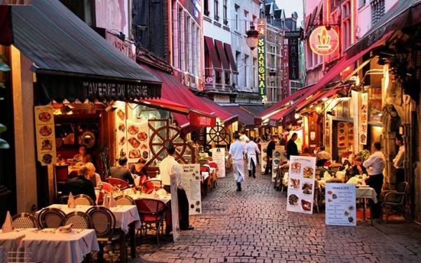 غذاهای خیابانی بروکسل