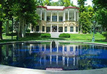 Niavaran Palace in Tehran