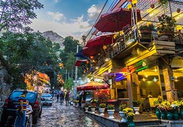 Darband in Tehran