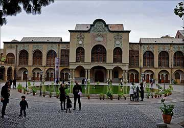 Masoudieh Mansion in Tehran