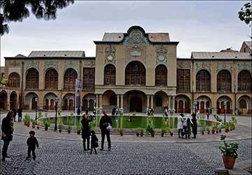 Masoudieh Mansion in Tehran