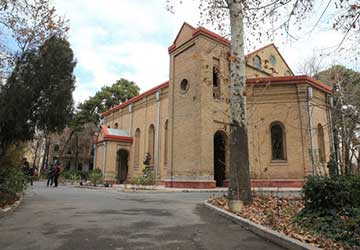 Saint Peters Church in Tehran