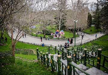 Mellat Park in Tehran