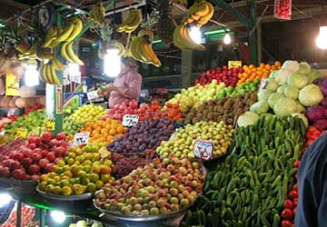 Tajrish Bazaar in Teheran
