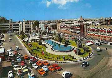 Toopkhaneh Square in Tehran