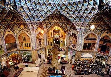 Grand Bazaar in Isfahan
