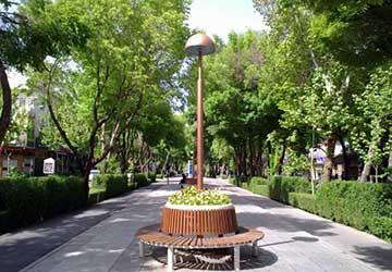 Chahar Bagh Street in Isfahan