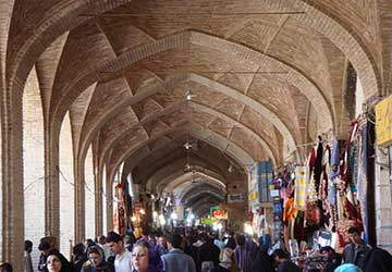 Khan Bazaar in Yazd