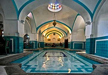 Khan Bathhouse in Yazd
