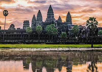 جاذبه های کامبوج