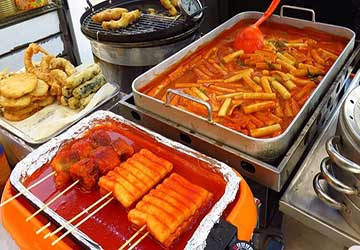 غذاهای کره جنوبی