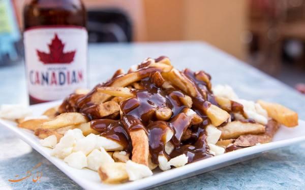 غذای کانادا