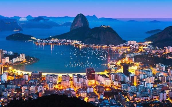 پایتخت برزیل | ریو د ژانیرو
