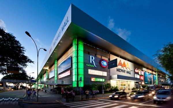 مراکز خرید در شهر ناتال