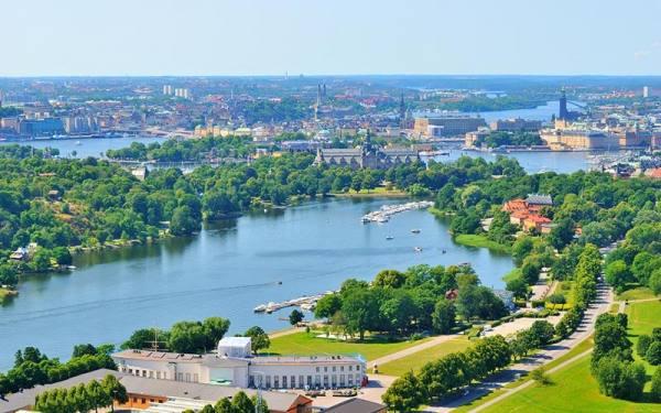 استکهلم در تابستان