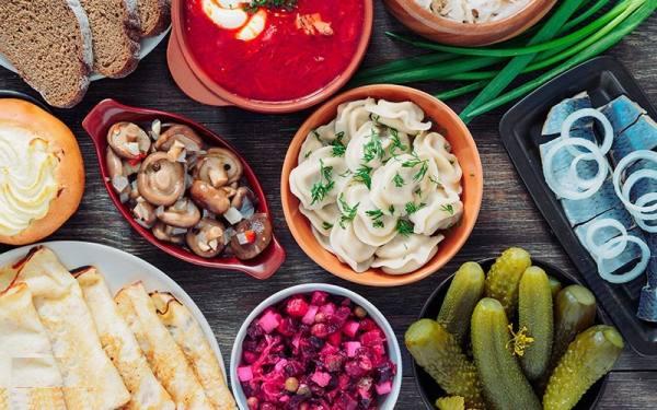 غذاهای معروف روسیه